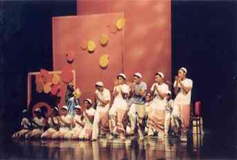 Finale ceremonies of Mehr Ain, international Festival 2005 Iran